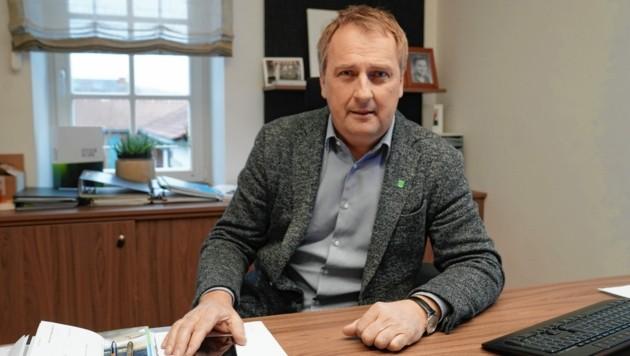 Bürgermeister Reinhold Ebner (Bild: Sepp Pail)