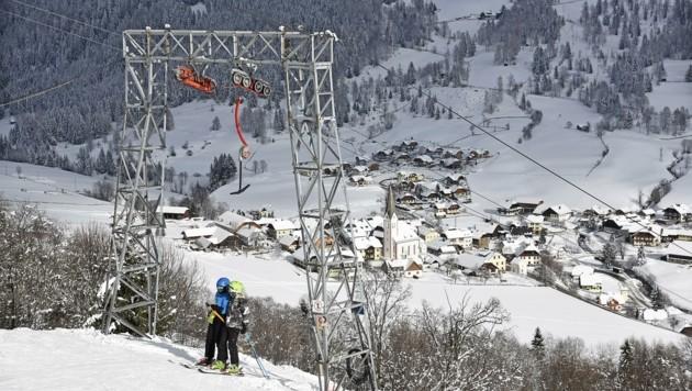 Die letzten Skiurlauber müssen bis Sonntagabend abreisen (Bild: Holitzky Roland)
