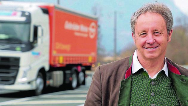 Ferdinand Hueter hofft auf einen raschen Baubeginn. (Bild: Hannes Wallner)