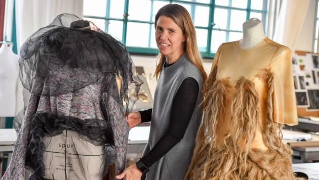"""Christiane Luible-Bär leitet die Studienrichtung """"Fashion & Technology"""". (Bild: Dostal Harald)"""