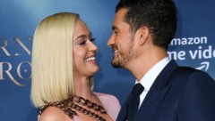Katy Perry und Orlando Bloom (Bild: AFP)