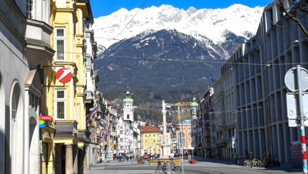 Tirols Landeshauptstadt Innsbruck (Bild: APA/EXPA/ERICH SPIESS)