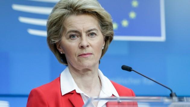 Ursula von der Leyen (Bild: APA/AFP/Aris Oikonomou)