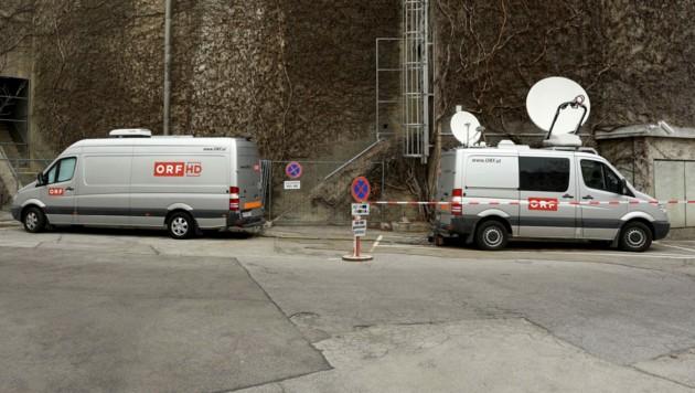"""Der ORF bereitet derzeit ein """"Stadt-Studio 2"""" in der Stiftskaserne vor. (Bild: APA/BMLV)"""