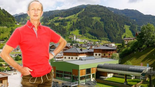 Großarls Bürgermeister Johann Rohrmoser hat sich mit dem Coronavirus angesteckt. (Bild: Fotomontage/Bilder: Gerhard Schiel)