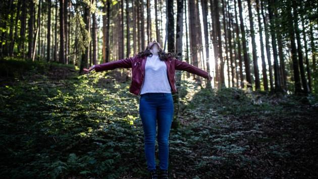 Ein Spaziergang im Wald dient der Entspannung. (Bild: zvg/Guntram Fechtig)