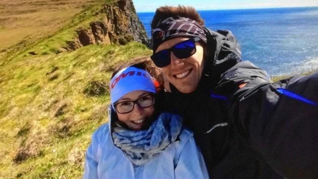Laura und Florian leben in Edinburgh, bleiben vorerst dort (Bild: Laura Ortner)