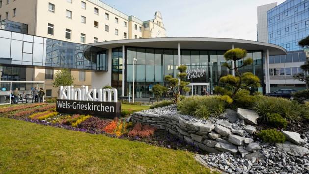 Krankenhaus Klinikum in Wels. (Bild: gewefoto - Gerhard Wenzel)