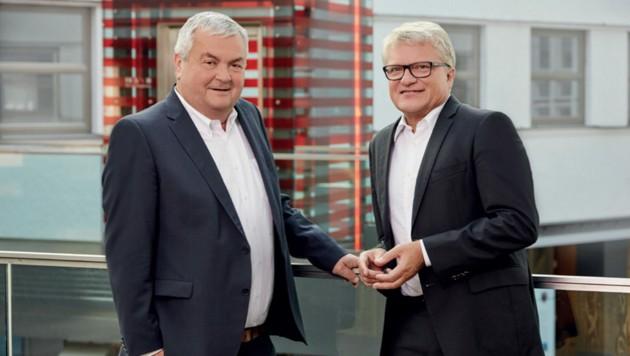 AKOÖ-Präsident Johann Kalliauer und der Linzer Bürgermeister Klaus Luger (Bild: FSG)