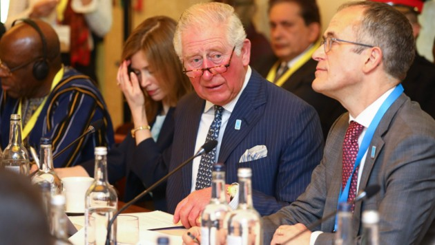 "Prinz Charles beim ""WaterAid charity's Water and Climate""-Treffen in London (Bild: Tim P Whitby / PA / picturedesk.com)"