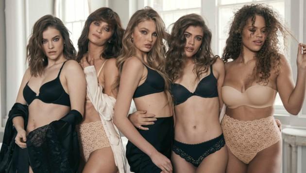 Helena Christensen sorgte mit ihrer Kampagne für Vielfalt bei Victoria's Secret. (Bild: Helena Christensen/Victoria's Secret)