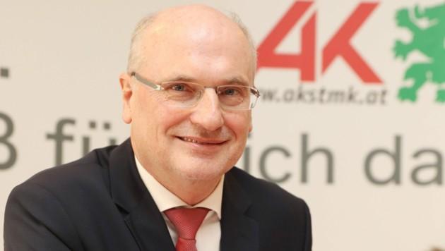 StFV-Präsident Wolfgang Bartosch (Bild: Juergen Radspieler)