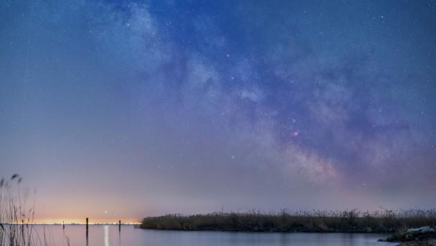 Wundervolle Aufnahme der Milchstraße von Leserreporter Thomas N. aus Purbach (Bild: Leserreporter Thomas N.)