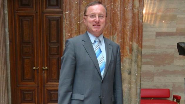 Nationalratabgeordente und Bürgermeister in Schiedlberg Johann Singer, ÖVP (Bild: ÖVP)
