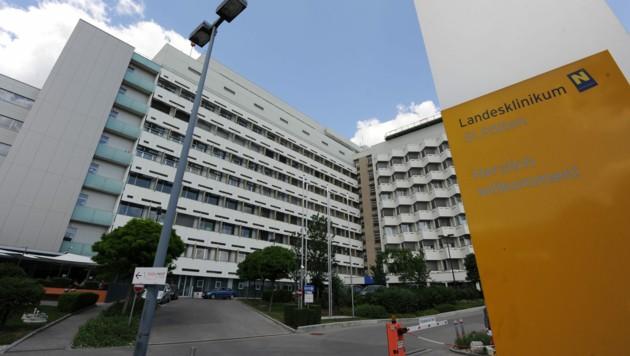 Das Krankenhaus in St. Pölten (Bild: APA/HERBERT PFARRHOFER)