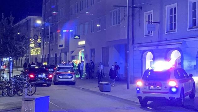 """Tatort: Die Griesgasse im Bereich des Lokals """"City Beats"""" (Bild: Tschepp Markus)"""