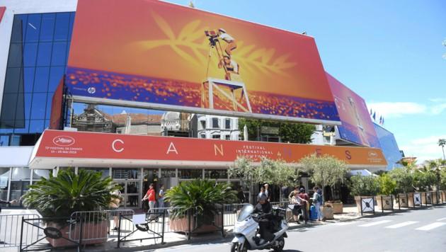 Der Festivalpalast in Cannes (Bild: AP)
