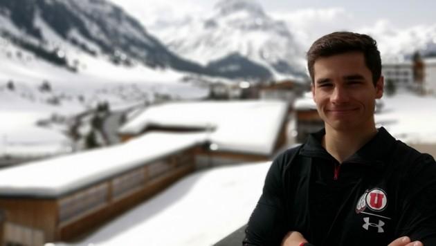 Der Lecher Linus Walch fuhr selbst Skirennen und machte in den USA erste Erfahrungen als Trainer. Er wird Johannes Strolz zum Trainingsauftakt nach Oslo begleiten. (Bild: Magnus Walch)