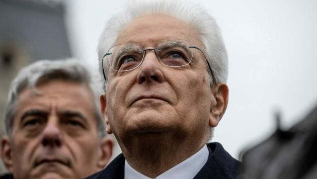 Sergio Mattarella (Bild: AFP)