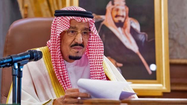 Der saudische König Salman (Bild: AFP)