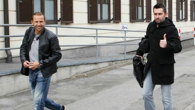 Der Steirer Rene Poms (li.) ist Co-Trainer beim kroatischen Meister Dinamo Zagreb. (Bild: GEPA pictures)
