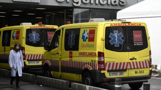 Spanien ist in Europa nach Italien am zweitstärksten von der Corona-Pandemie betroffen. (Bild: AFP or licensors)