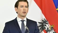 Bundeskanzler Sebastian Kurz (ÖVP) (Bild: APA/Hans Punz)