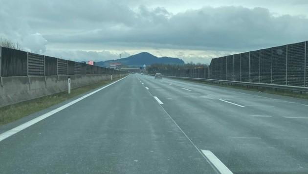Leere Straßen in Salzburg. (Bild: Markus Tschepp)