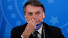 Jair Bolsonaro (Bild: APA/AFP/Sergio LIMA)