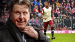 Pini Zahavi (links) und David Alaba (Bild: GEPA, APA/AFP/FRANCK FIFE, krone.at-Grafik)