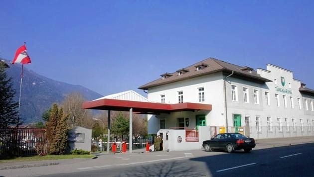 Die Türk-Kaserne in Spittal ist derzeit gesperrt. (Bild: rie-press-international )