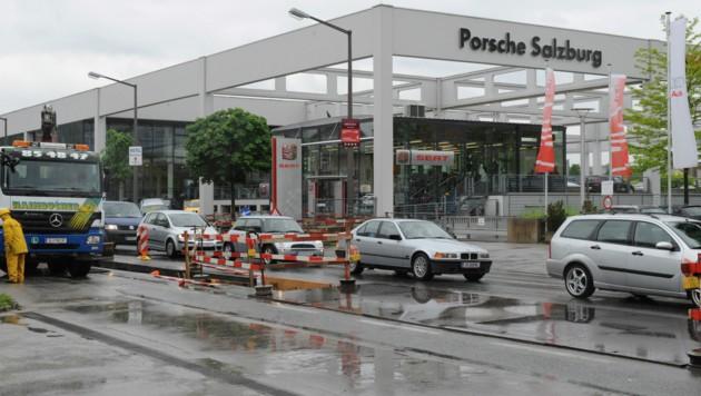 Die Porsche Holding GmbH hat ihren Sitz in Salzburg. (Bild: AFP)