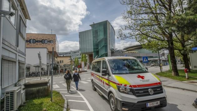 Der Patient wurde am Salzburger Uniklinikum behandelt (Bild: Tschepp Markus)
