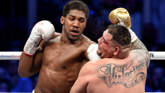 Anthony Joshua (li.) (Bild: AFP)