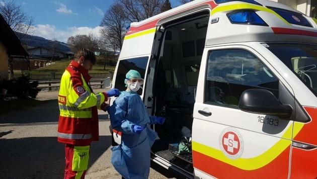 Die mobilen Teams des Samariterbundes sind mit Visitenärzten in ganz Kärnten unterwegs. (Bild: Samariterbund Kärnten)