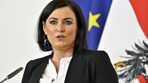Ministerin Köstinger (Bild: APA/Hans Punz)