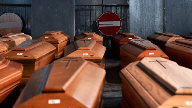 (Bild: APA/AFP/Piero Cruciatti)