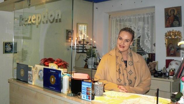 Christine Bucher (46) betreibt seit zehn Jahren den Betrieb. (Bild: Christian Biendl)