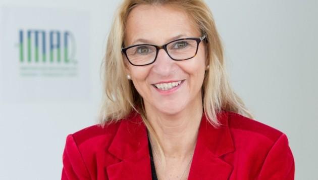 IMAD-Chefin Barbara Traweger-Ravanelli (Bild: Christian Forcher)