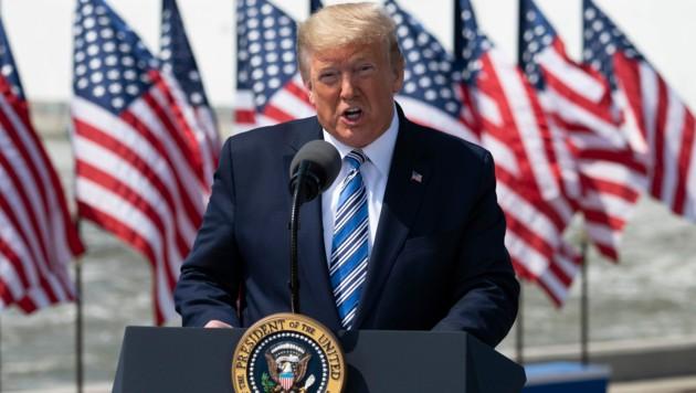US-Präsident Donald Trump (Bild: AFP)