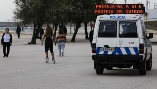 In Portugal wurde der Ausnahmezustand verhängt, eine Ausgangssperre gibt es aber bisher nicht. (Bild: AFP)