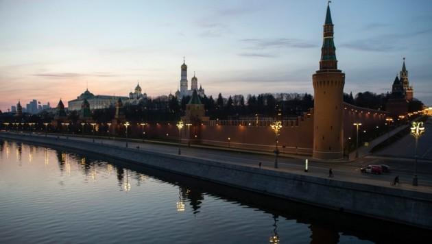 Die russische Hauptstadt Moskau (Bild: The Associated Press)