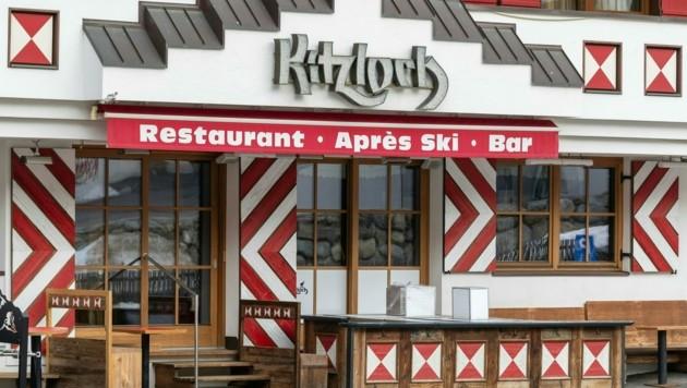 """In der Après-Ski-Bar """"Kitzloch"""" sollen sich zahlreiche Gäste angesteckt haben."""