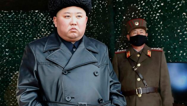 Nordkoreas Machthaber Kim Jong Un (Bild: AP)