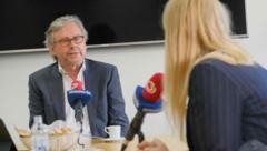 Alexander Wrabetz und Claudia Stöckl (Bild: ORF/Günther Pichlkostner)