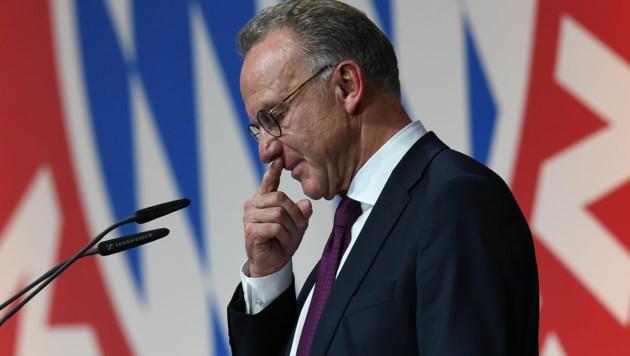Bayern-Vorstandsvorsitzender Karl-Heinz Rummenigge (Bild: APA/AFP/Christof STACHE)