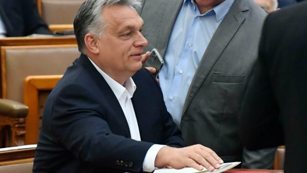 Das Parlament hatte Ende März Premierminister Viktor Orban mit umfassenden Sondervollmachten zur Bewältigung der Coronavirus-Krise ausgestattet. (Bild: MTVA - Media Service Support and Asset Management Fund)