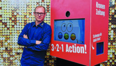 """""""Unser einziger fixer Mitarbeiter ist in Kurzarbeit. Die laufenden Kosten haben wir minimiert"""", sagt Peter Bodingbauer. (Bild: Harald Dostal)"""