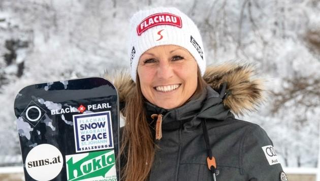 Claudia Riegler rüstet sich für neue Großtaten im Weltcup (Bild: Tröster Andreas)