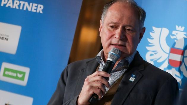 Peter Mennel, Generalsekretär des Österreichischen Olympischen Komitees (ÖOC) (Bild: GEPA pictures)